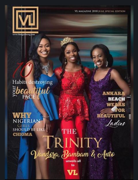 Vandora, BamBam And Anto Cover Latest Edition Of VL Magazine