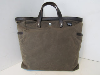 Jack Spade Oiled Canvas Tote