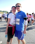 Mike and I, post-race.