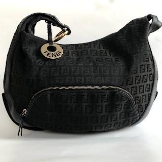 Fendi Zucca FF Hobo Bag