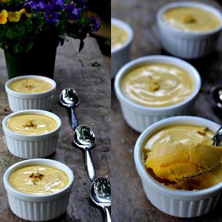 Aam Doi (Baked Mango and Yogurt Dessert from Bengal).