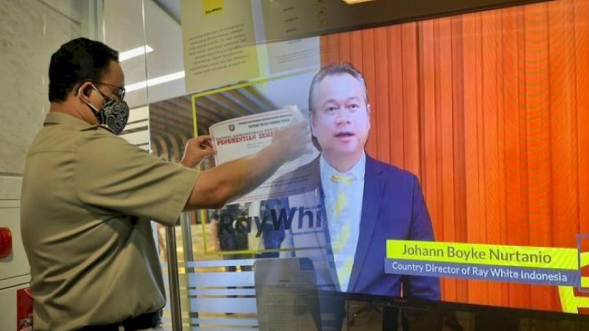 Anies Tutup Kantor Ray White Indonesia, Ternyata Bukan Perusahaan Sembarangan