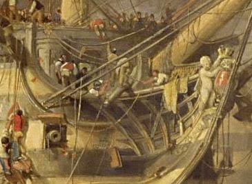 The_Battle_of_Trafalgar_by_William_Clark