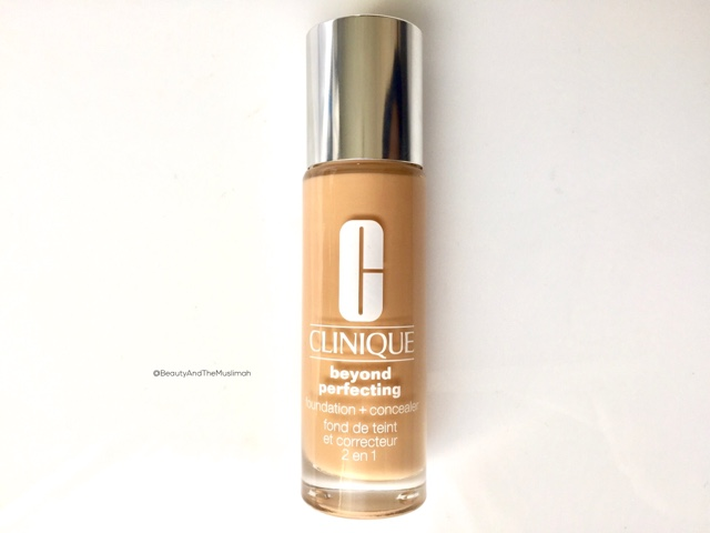 Clinique Beyond Perfecting Foundation and Concealer 08 Golden