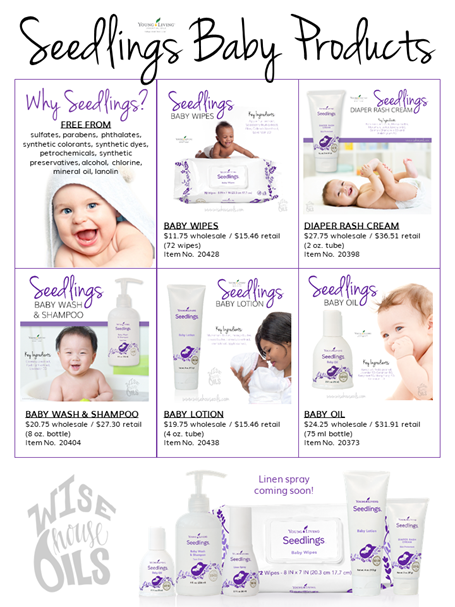 Seedlings Baby Products by Young Living