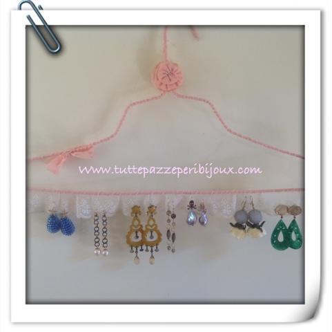 Tuttepazzeperibijoux by maria elena capelli jewellery - Portaorecchini fai da te ...