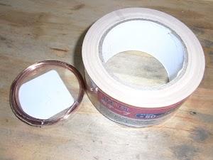 針金と布テープ