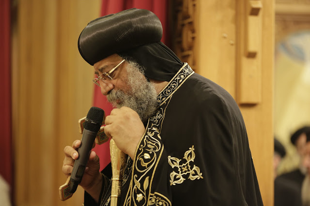 His Holiness Pope Tawadros II visit to St. Mark LA - _09A9166.JPG