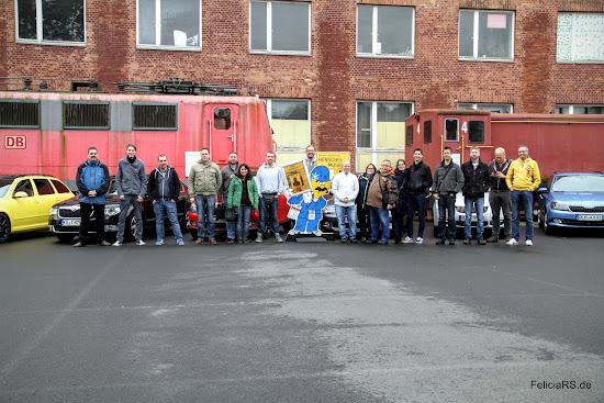 Gruppenbild Skoda Kasseltreffen 2015