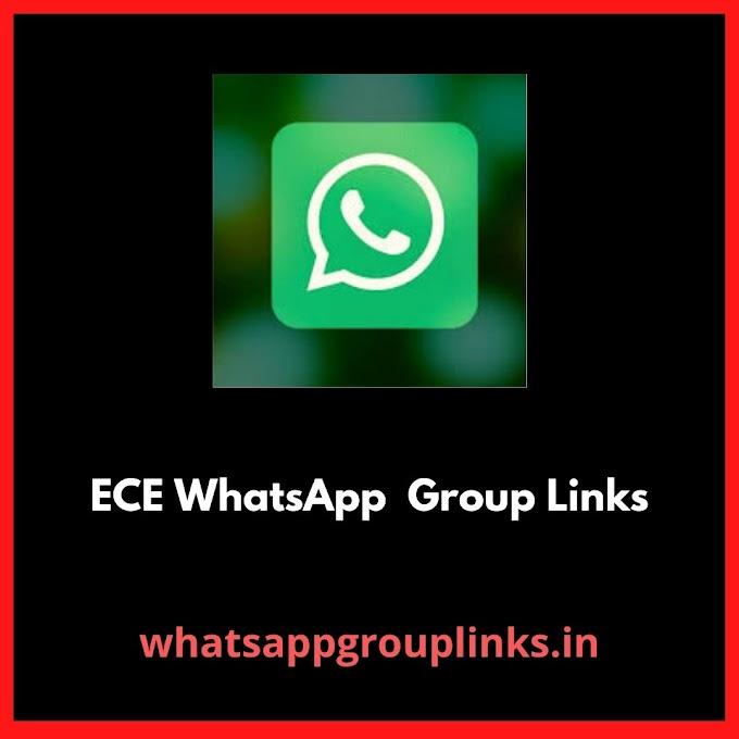 Join ECE Whatsapp Group Links