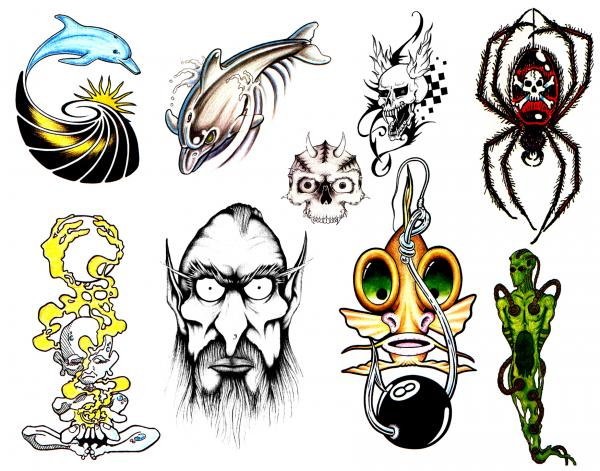Fantasy Tattoo Design, Fantasy Tattoo Designs