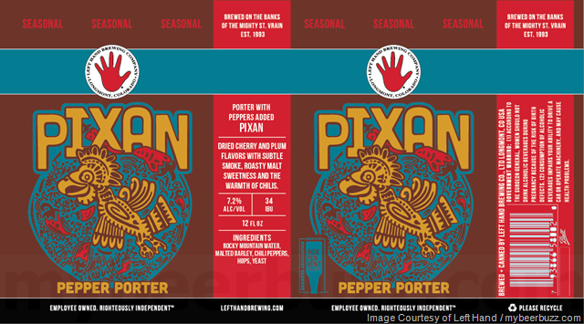 Left Hand Adding Pixan Pepper Porter & New Brewers Test Kitchen Black Forest Stout