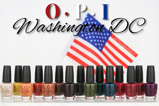 OPI Kerry Washington DC AW 2016