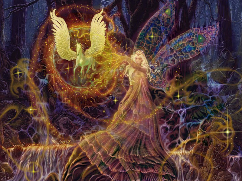 Goddess Of Unicorns, Goddesses