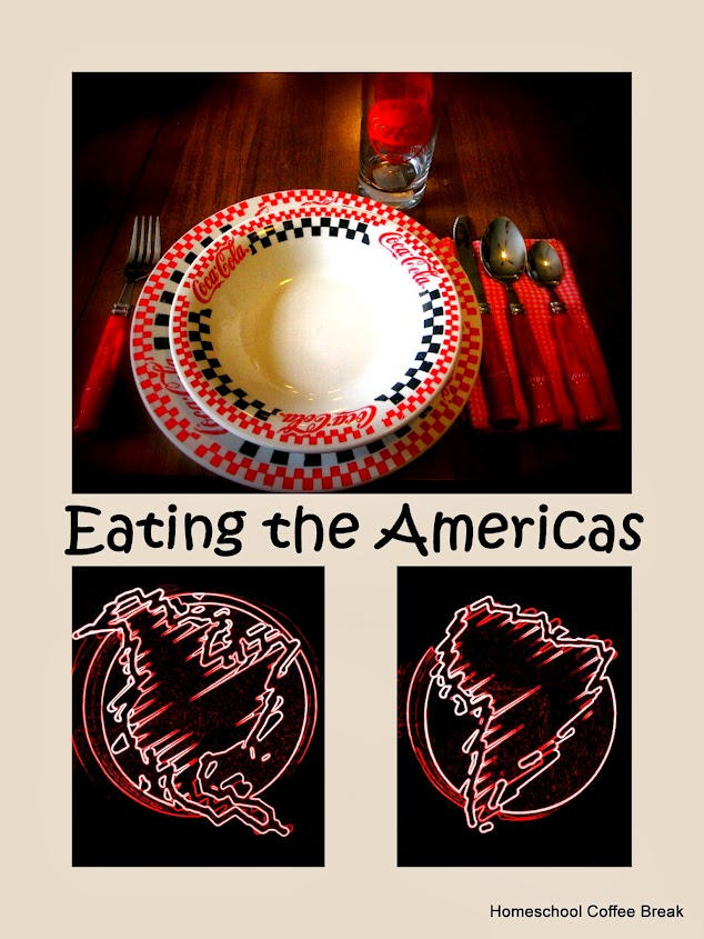 Eating the Americas | Homeschool Coffee Break @ kympossibleblog.blogspot.com