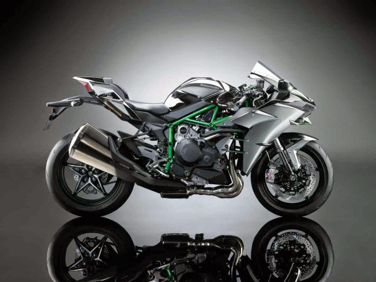 Motor Kawasaki Ninja H2