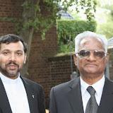Der Gründer der indischen Gemeinde zu Besuch in Köln