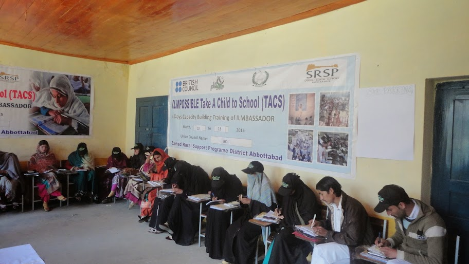 SRSP is implementing TACS project in 6 Districts of KPK including (Kohistan, Shangla, Chitral, Swat, Haripur and Abbottabad) by the end of 2015