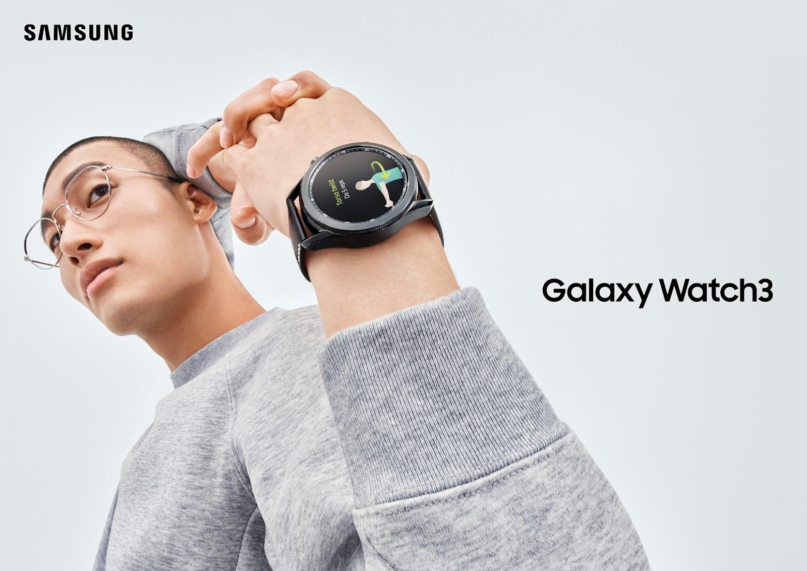 ดูแลสุขภาพได้ด้วยตัวเองผ่านข้อมือคุณ ด้วย Samsung Galaxy Watch 3 สมาร์ทวอทช์แฟลกชิปสุดล้ำที่มาพร้อมกับเทคโนโลยีด้านสุขภาพชั้นนำ