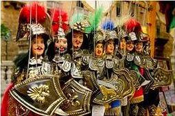 сувениры Сицилии - куклы Пупи