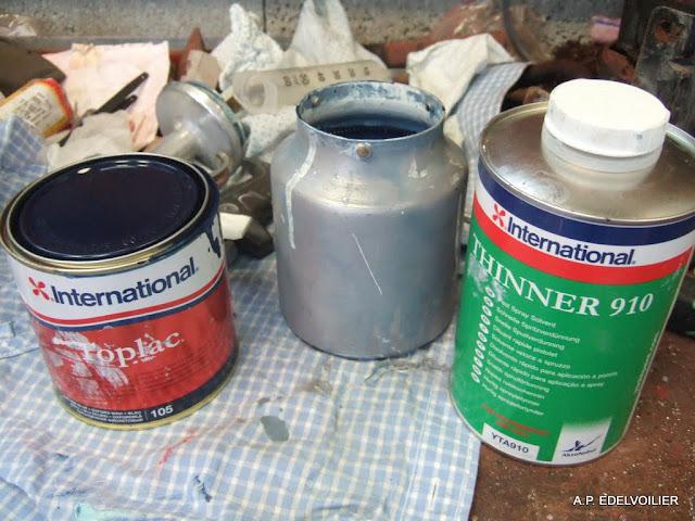 La peinture monocomposant et son diluant