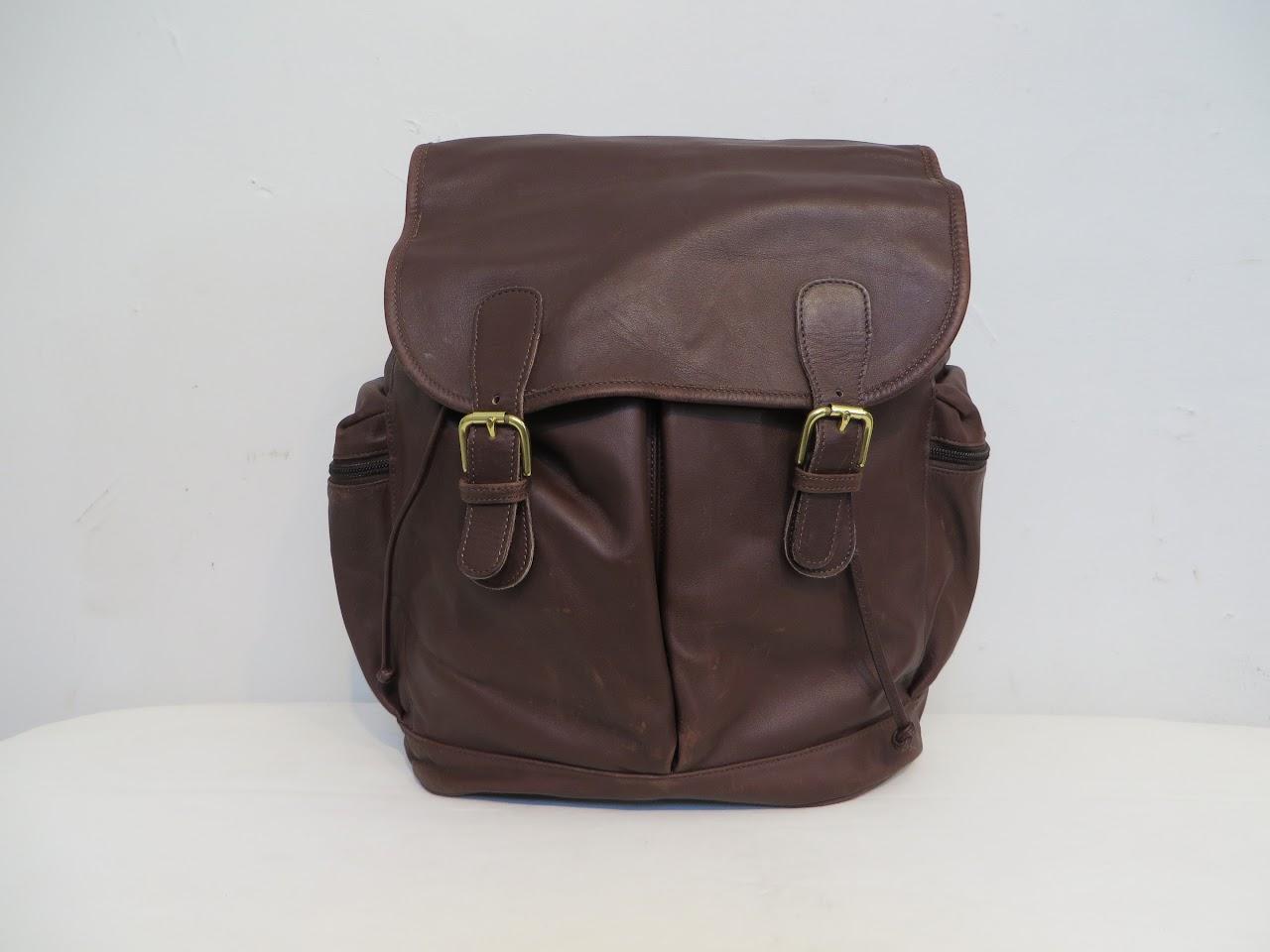 Coach Vintage Drawstring Backpack 1