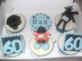 Mr Potato Head Cupcakes