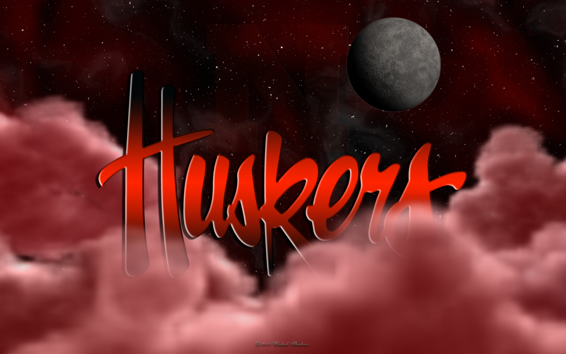 wallpapers by wicked shadows huskers above the clouds