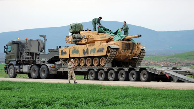 Turkey denies use of chemical weapons in Syria's Afrin