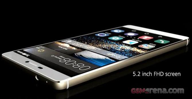 Huawei trình làng ba smartphone P8, P8max và P8 Lite