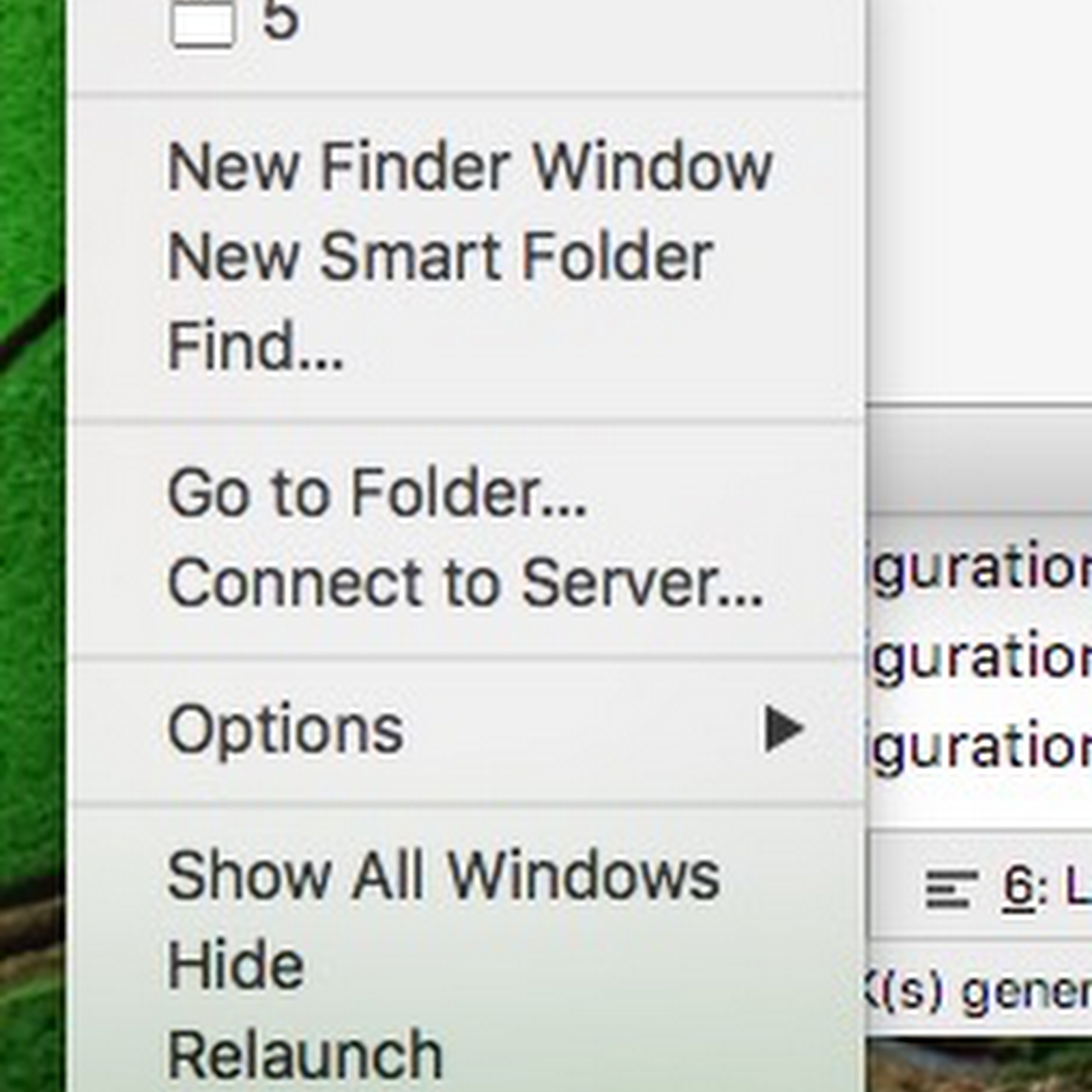 Mac Show hidden folder
