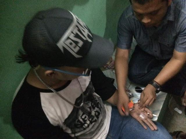 Simpan Sabu Disaku Celana, Seorang Pemuda Diamankan Jajaran Reskrim Polsek Babelan