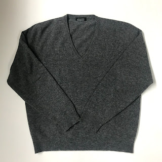Prada Lambswool V-Neck Sweater