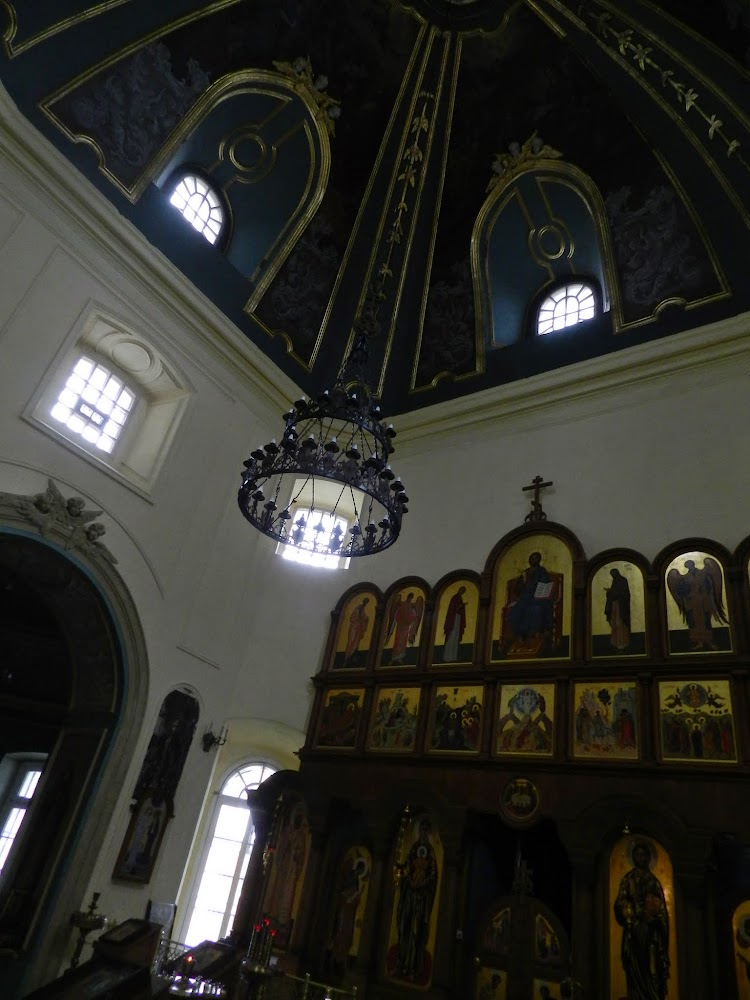 inside another big Orthodox church