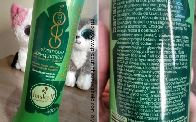 Shampoo Haskell Bananeira