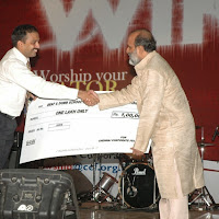 g.Cheque to World Vision from CCF