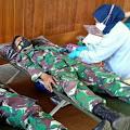 Peran Serta Babinsa Koramil 0819/11 Beji dalam Aksi Donor Darah
