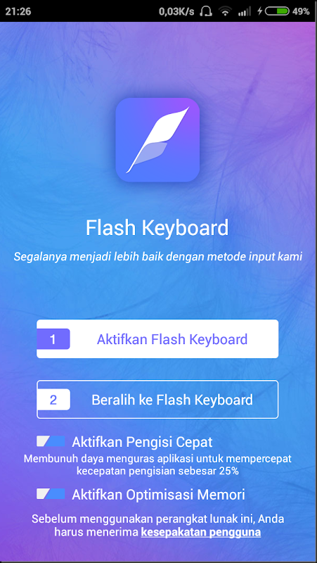 cara membuat tampilan keyboard menjadi super cantik