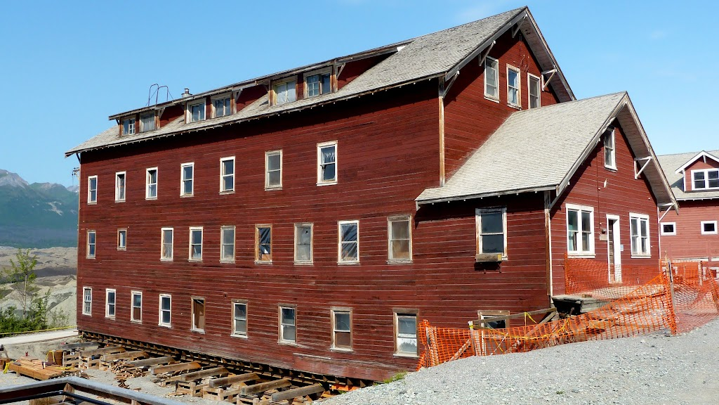 West Bunkhouse under const