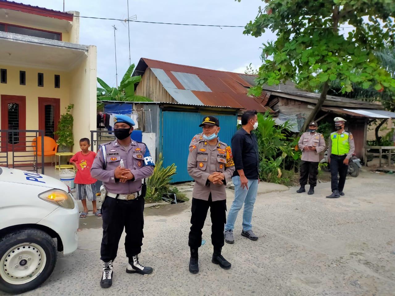 Kabag Ops Polres Batu Bara Pimpin KRYD, Razia Narkoba Para Sopir