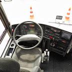Het dashboard van de Vanhool van Beuk bus 266