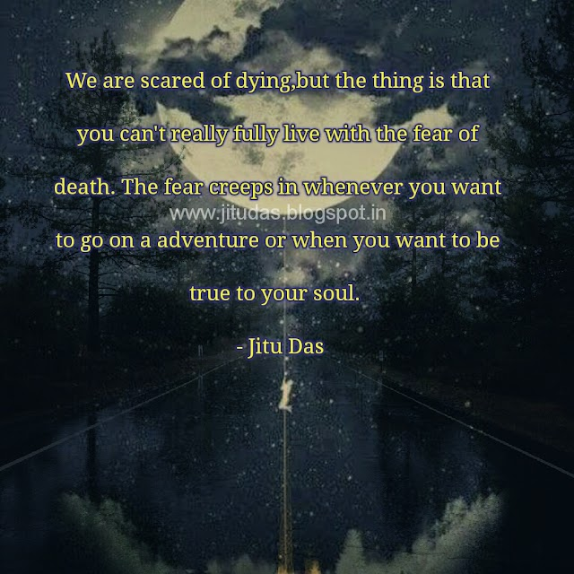 English Death quotes by Jitu Das quotes