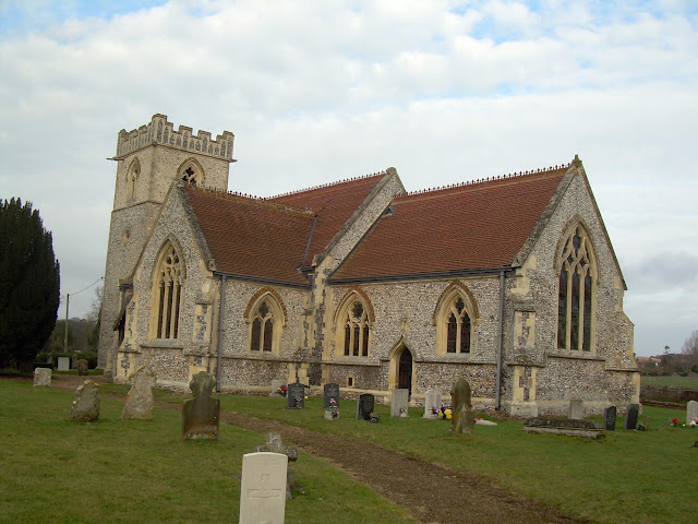 St Mary's church, Brettenham, near Thetford