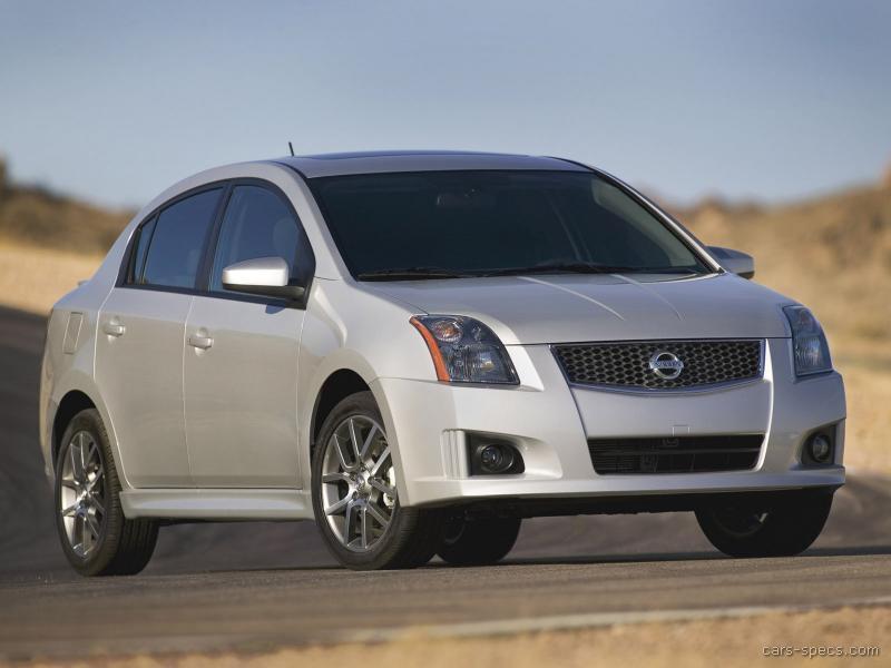2008 Nissan Sentra Se R Spec V Specifications Pictures