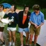 1979 Robert Read, Roy Fisher, Gordon Browning, FA , Ashburton camp site.jpg