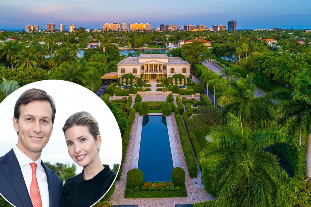 Trump's daughter, Ivanka and husband Jared Kushner Acquires Luxury six bedroom, 8 bathroom mansion (Interior and Exterior photos)