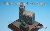 Palace Salvo and Jose Artigas