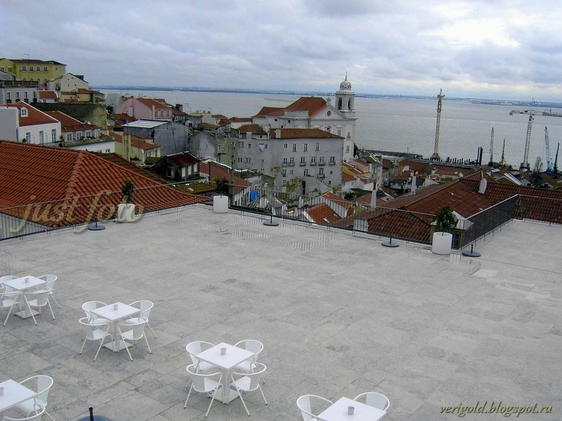 Алфама смотровая площадка Лиссабон фото