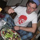 11/29/09: Vegan feast with Joshua Ploeg and friends in Noho!