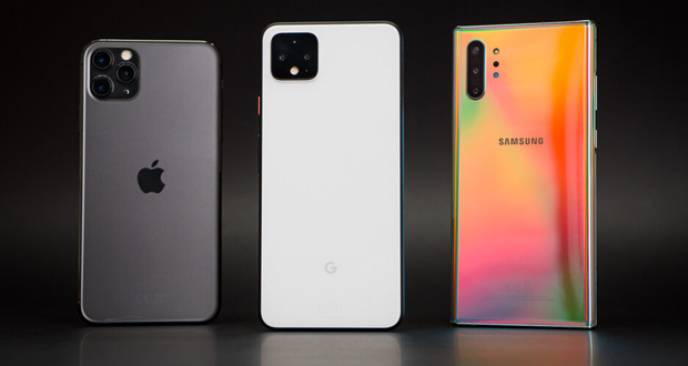 أفضل الهواتف الذكية خلال عام 2020